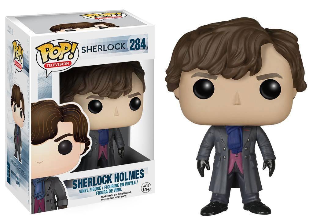 Sherlock POP! TV Vinyl Figure Sherlock Holmes 9 cm