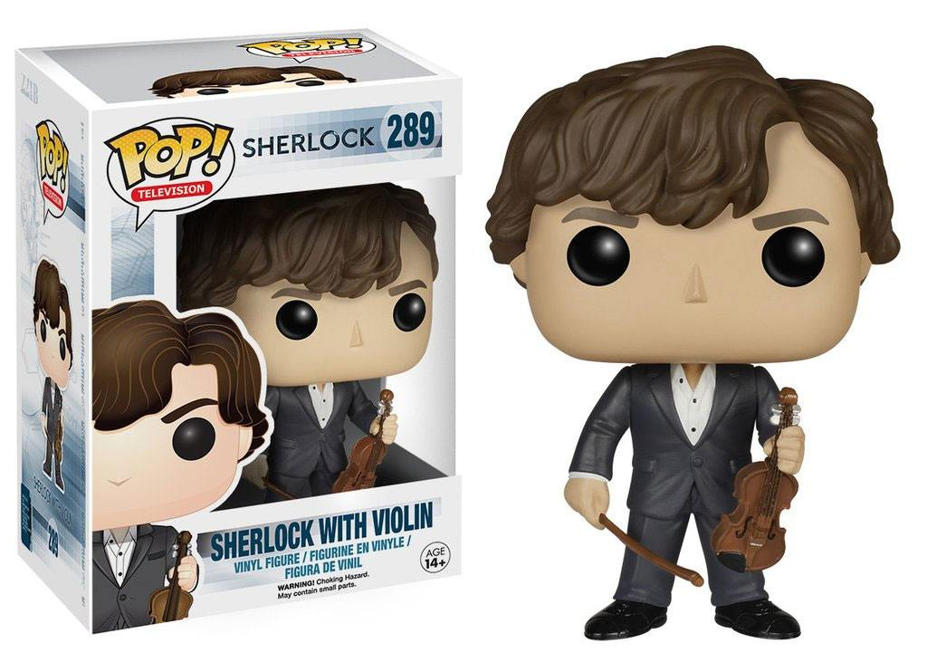 Sherlock POP! TV Vinyl Figure Sherlock with Violin 9 cm