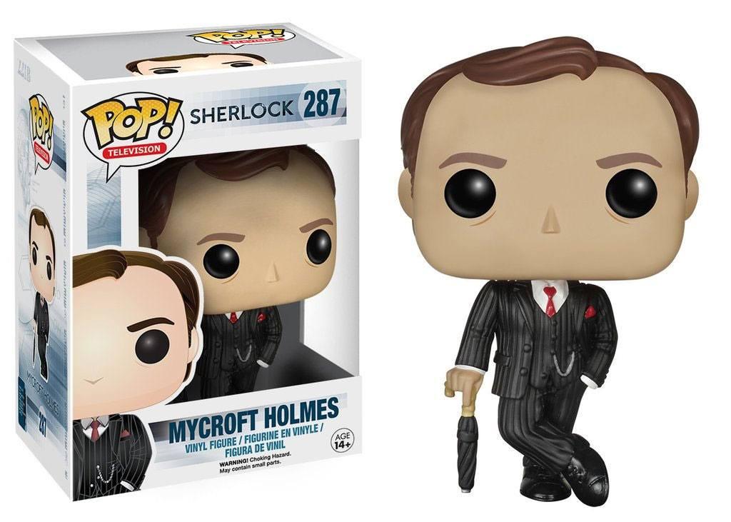 Sherlock POP! TV Vinyl Figure Mycroft Holmes 9 cm