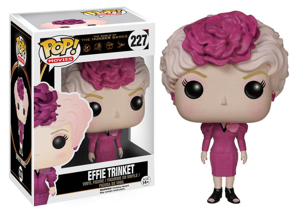 The Hunger Games POP! Movies Vinyl Figure Effie Trinket 9 cm