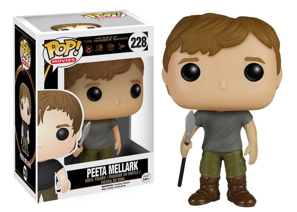 The Hunger Games POP! Movies Vinyl Figure Peeta Mellark 9 cm