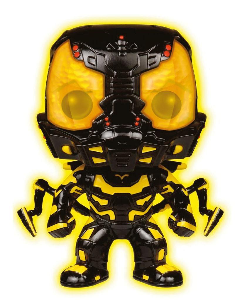 Ant-Man POP! Marvel Vinyl Figure Yellowjacket Glow in the Dark Limited Edition 9 cm