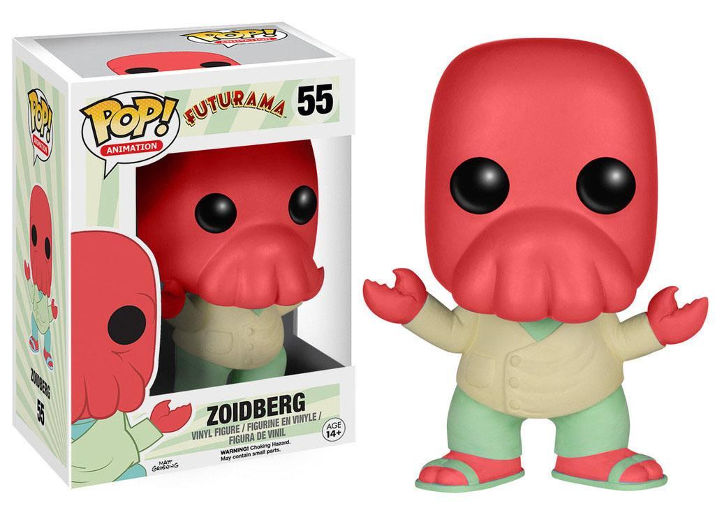 Futurama POP! Animation Vinyl Figure Zoidberg 9 cm