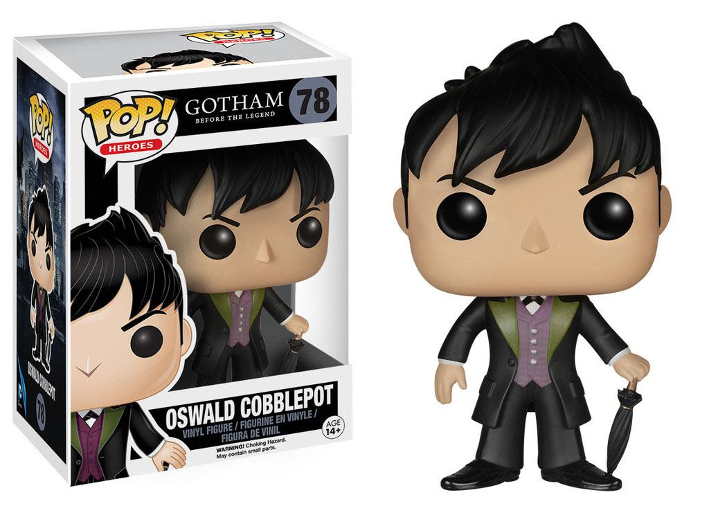 Gotham POP! Television Vinyl Figure Oswald Cobblepot 9 cm