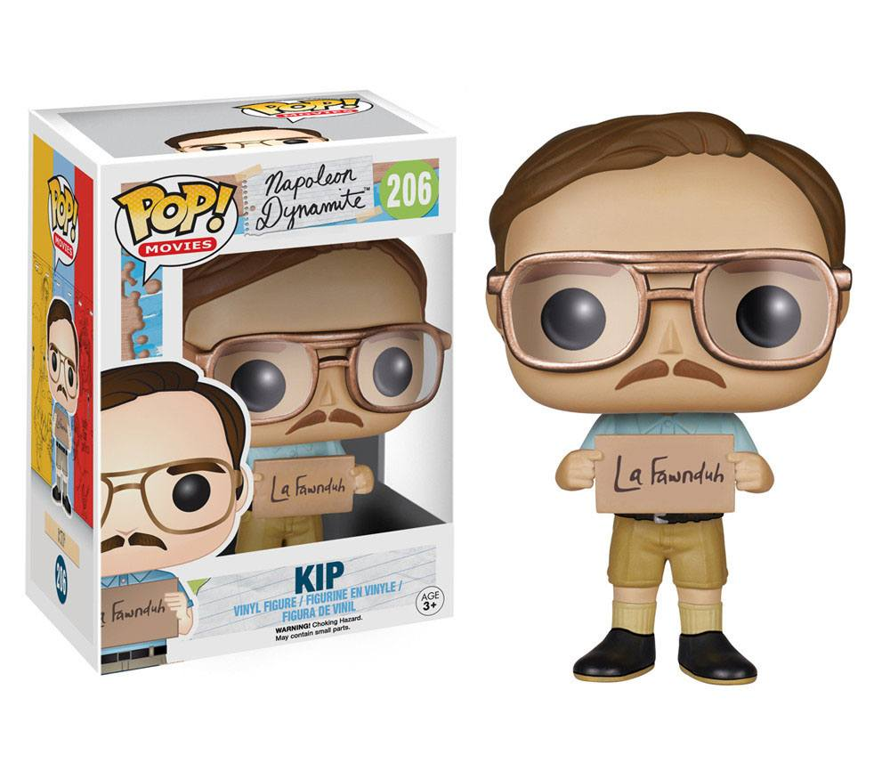 Napoleon Dynamite POP! Movies Vinyl Figure Kip 9 cm