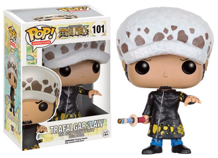 One Piece POP! Television Vinyl Figure Trafalgar Law 9 cm