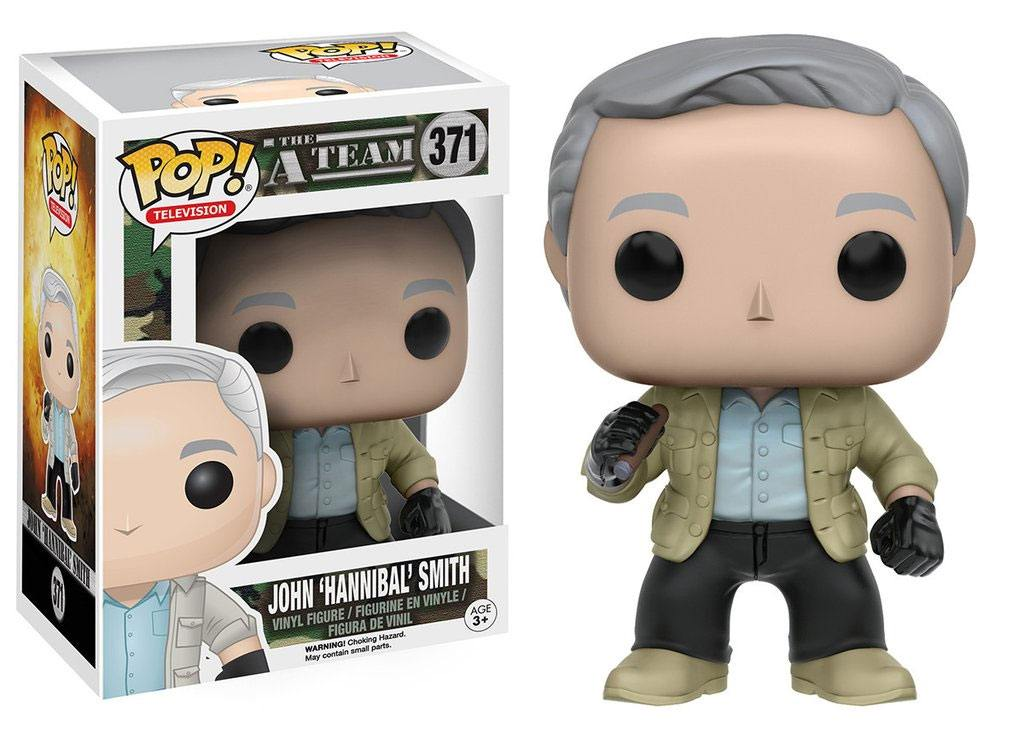 A-Team POP! Television Vinyl Figure John Hannibal Smith 9 cm