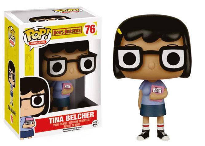 Bob's Burgers POP! Animation Vinyl Figure Tina Belcher 9 cm