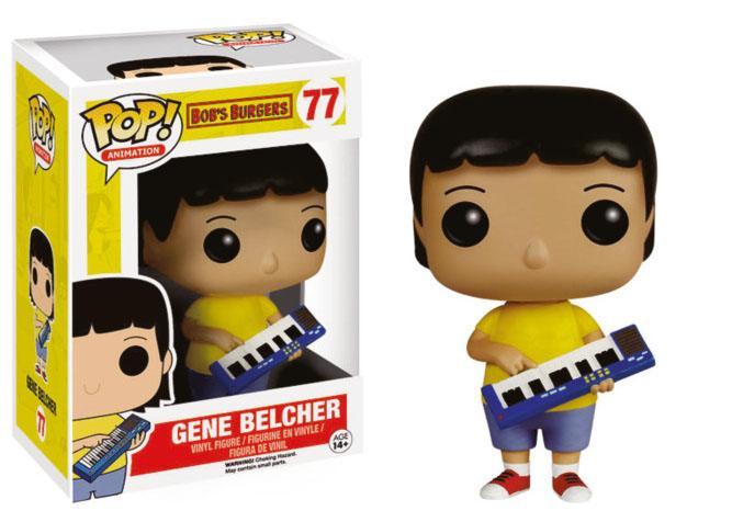 Bob's Burgers POP! Animation Vinyl Figure Gene Belcher 9 cm