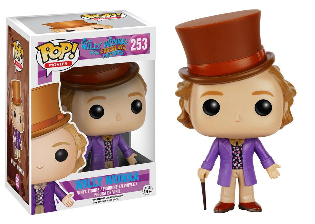 Charlie and the Chocolate POP! Movies Vinyl Figure Willy Wonka 9 cm