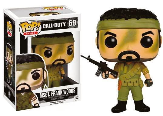 Call of Duty POP! Games Vinyl Figure MSgt. Frank Woods 9 cm