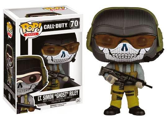 Call of Duty POP! Games Vinyl Figure Lt. Simon Ghost Riley 9 cm