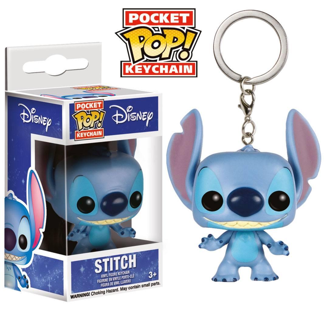 Lilo & Stitch Pocket POP! Vinyl Keychain Stitch 4 cm