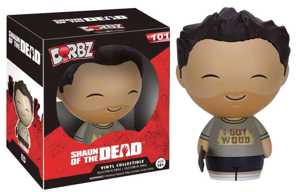 Shaun of the Dead Vinyl Sugar Dorbz Vinyl Figure Ed 8 cm