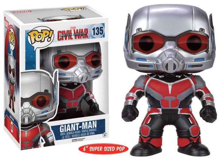 Captain America Civil War POP! Marvel Vinyl Figure Giant Man 15 cm