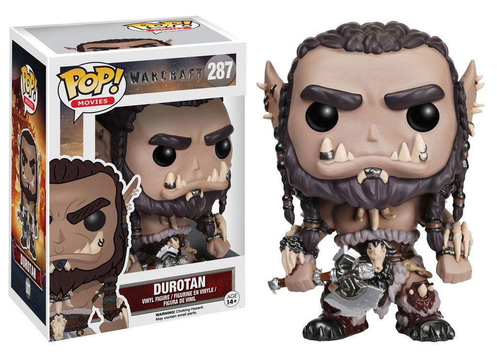 Warcraft POP! Movies Vinyl Figure Durotan 9 cm