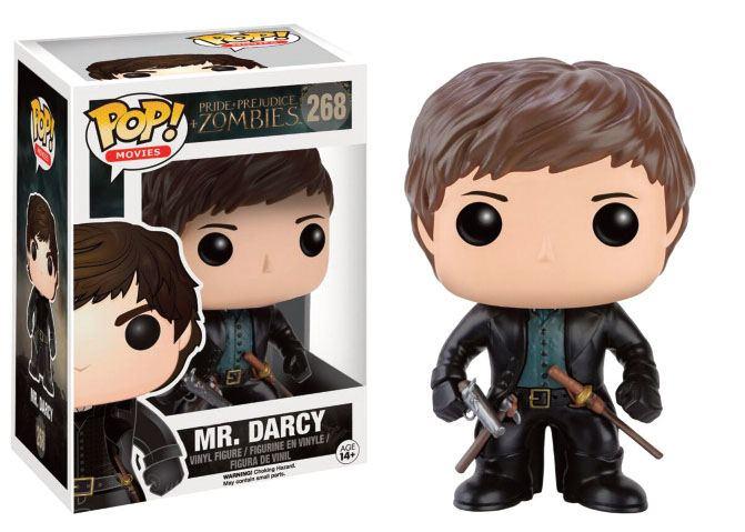 Pride + Prejudice + Zombies POP! Movies Vinyl Figure Mr. Darcy 9 cm