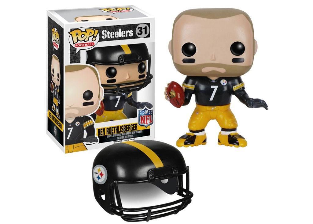NFL POP! Football Vinyl Figure Ben Roethlisberger (Steelers) 9 cm