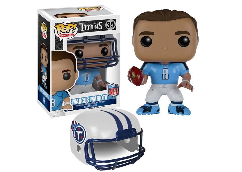 NFL POP! Football Vinyl Figure Marcus Mariota (Tennessee Titans) 9 cm