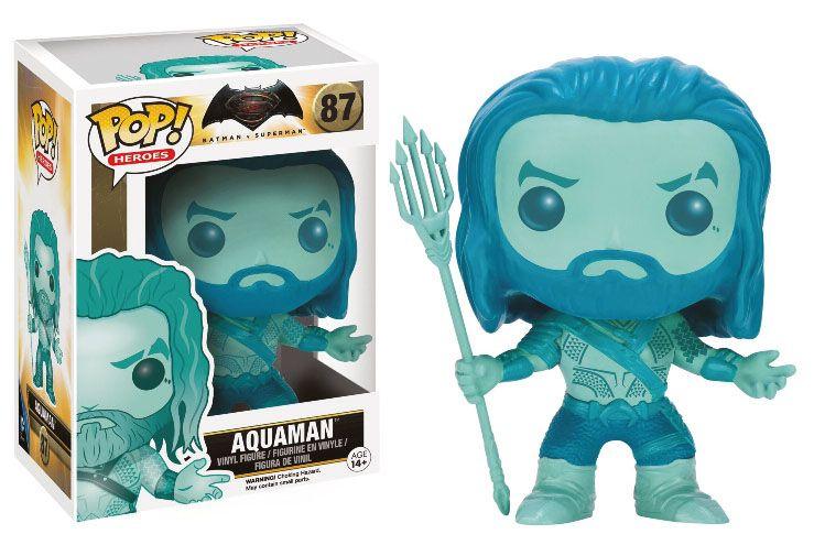 Batman v Superman POP! Heroes Vinyl Figure Blue Aquaman 9 cm