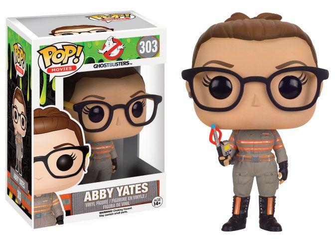 Ghostbusters 2016 POP! Movies Vinyl Figure Abby Yates 9 cm