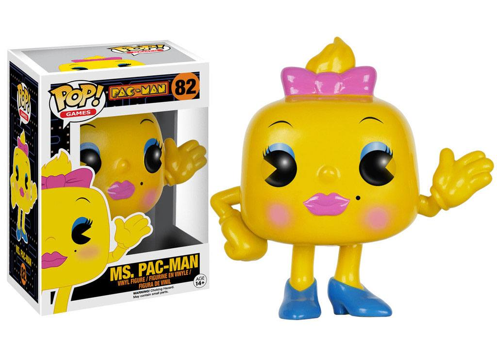 Pac-Man POP! Games Vinyl Figure Ms. Pac-Man 8 cm