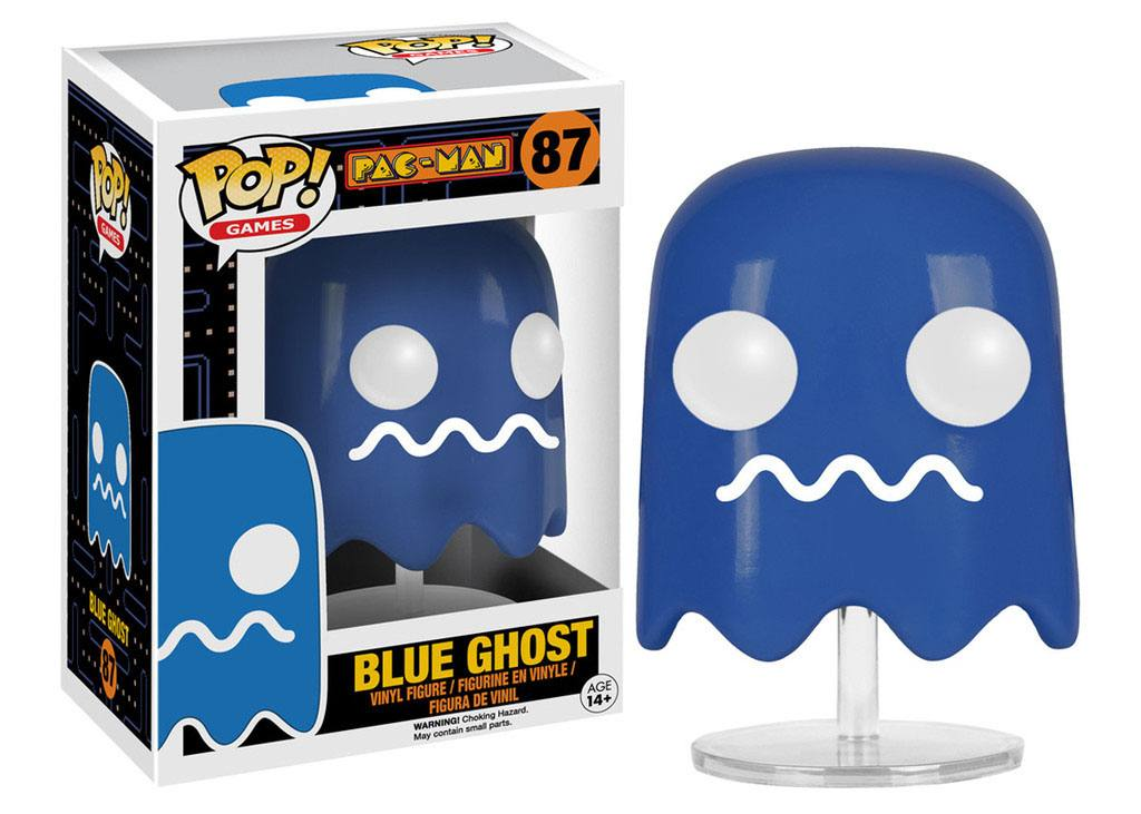 Pac-Man POP! Games Vinyl Figure Blue Ghost 8 cm