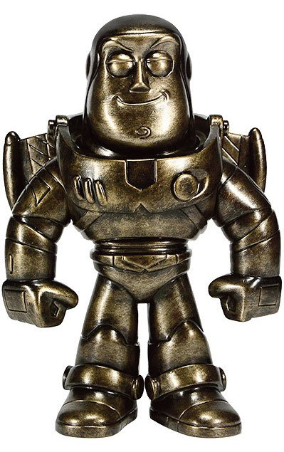 Toy Story Sofubi Vinyl Action Figure Buzz Lightyear (Pewter) 19 cm