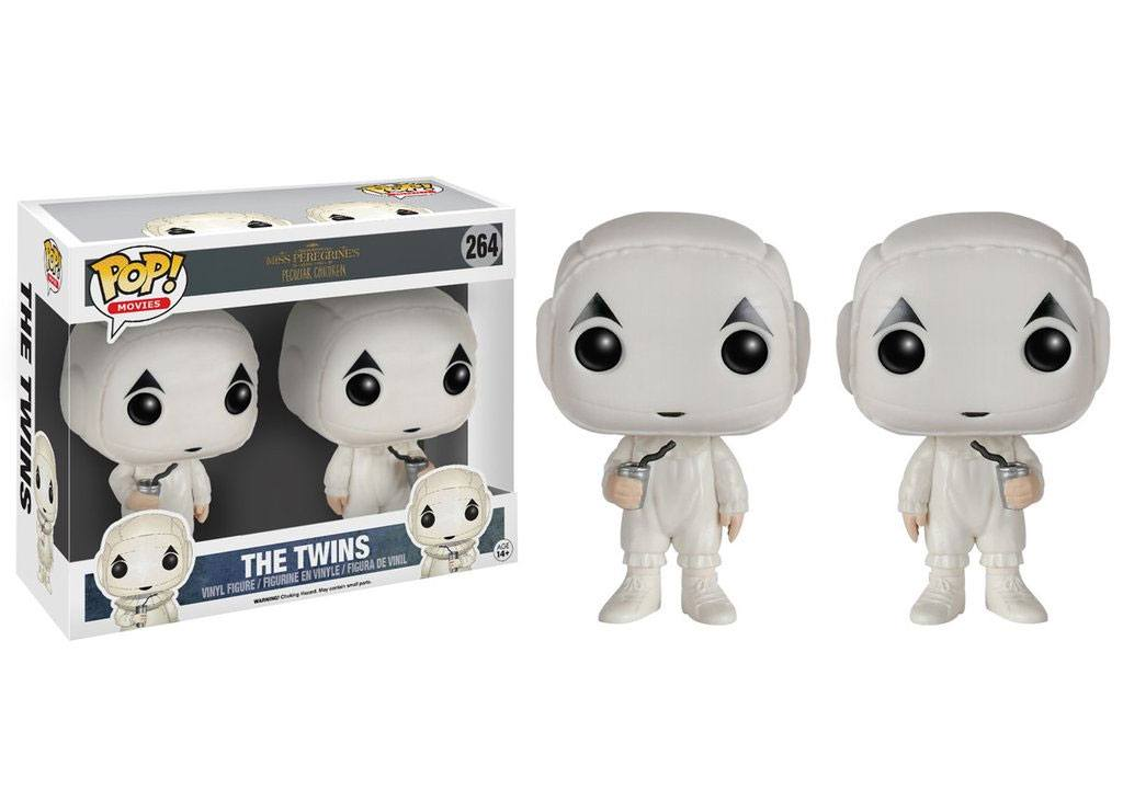 Miss Peregrine's Home for Peculiar Children POP! Movies Vinyl Figures 2-Pack The Twins 9 cm