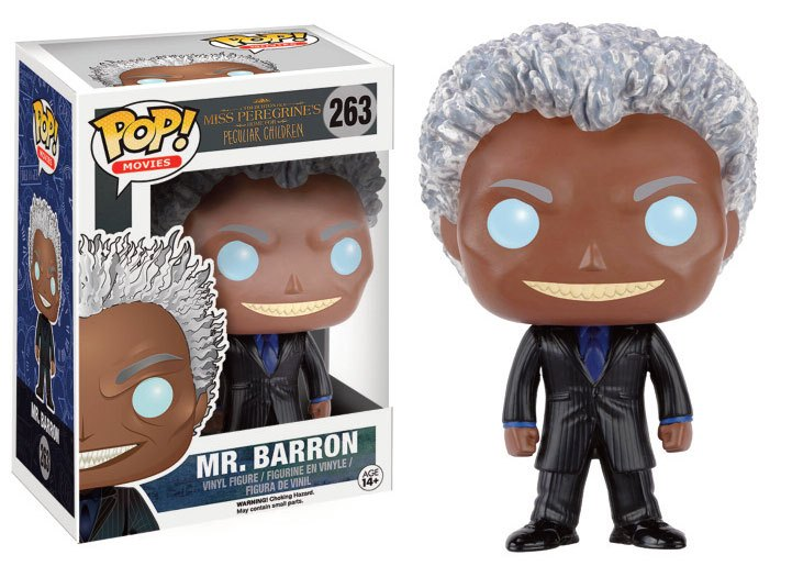 Miss Peregrine's Home for Peculiar Children POP! Movies Vinyl Figure Mr. Barron 9 cm