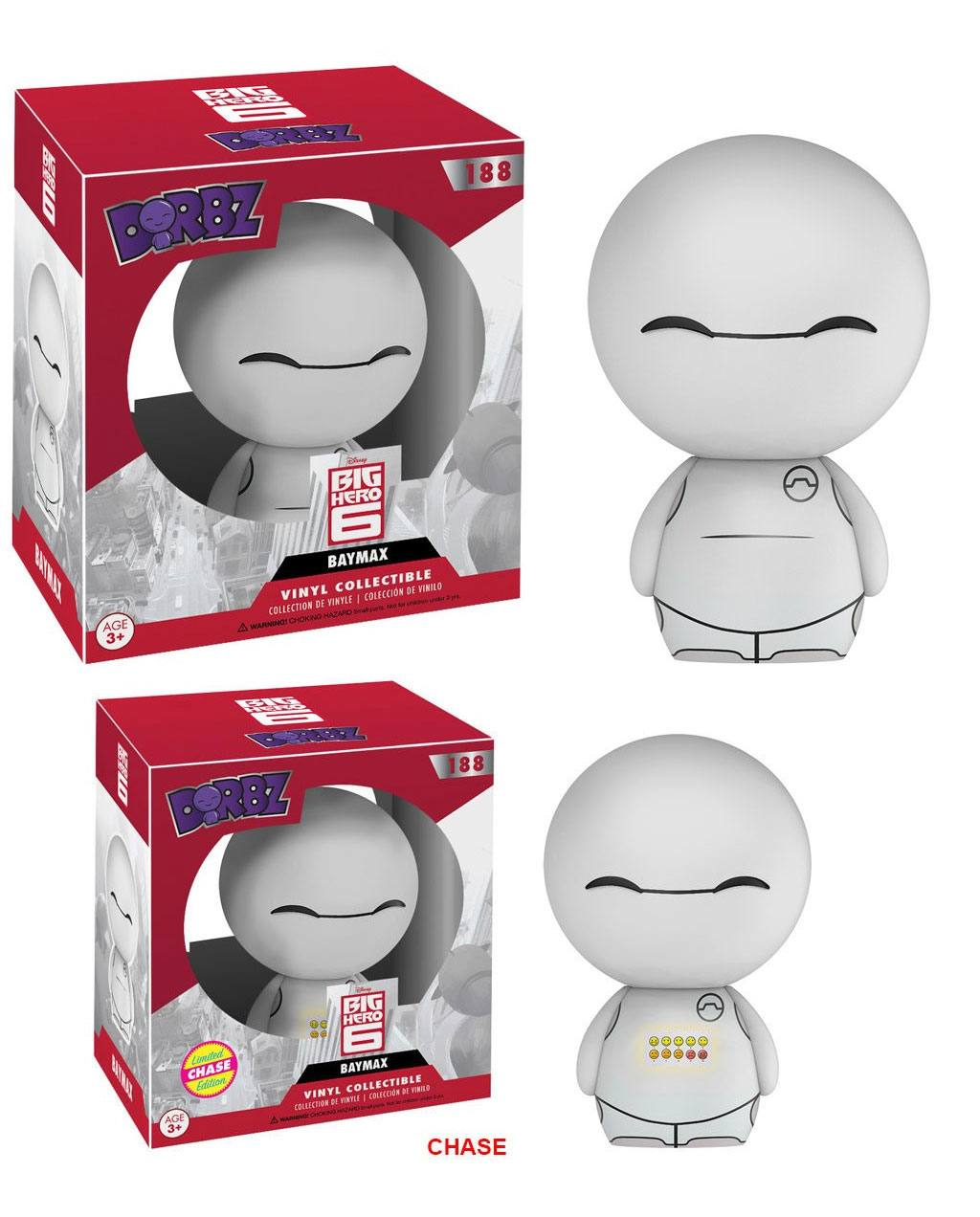 Big Hero 6 Vinyl Sugar Dorbz Vinyl Figures Baymax 8 cm Assortment (6)