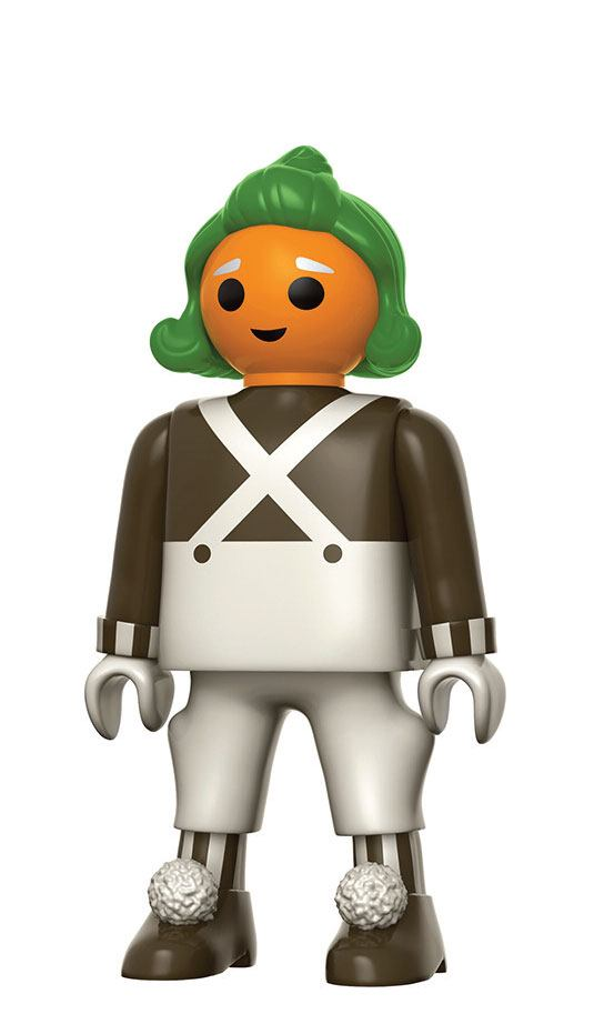 Willy Wonka & the Chocolate Factory Funko x Playmobil Vinyl Figure Oompa Loompa 15 cm