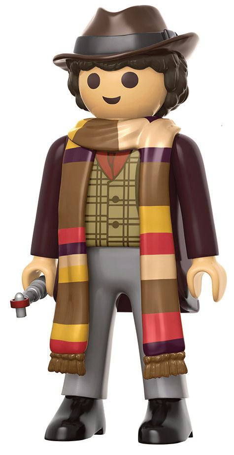 Doctor Who Funko x Playmobil Vinyl Figure 4th Doctor 15 cm