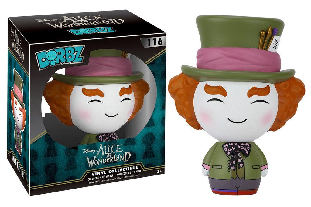Alice in Wonderland Vinyl Sugar Dorbz Vinyl Figure Mad Hatter 8 cm