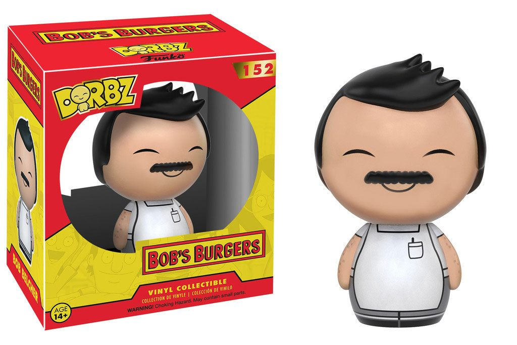 Bob's Burgers Vinyl Sugar Dorbz Vinyl Figure Bob 8 cm