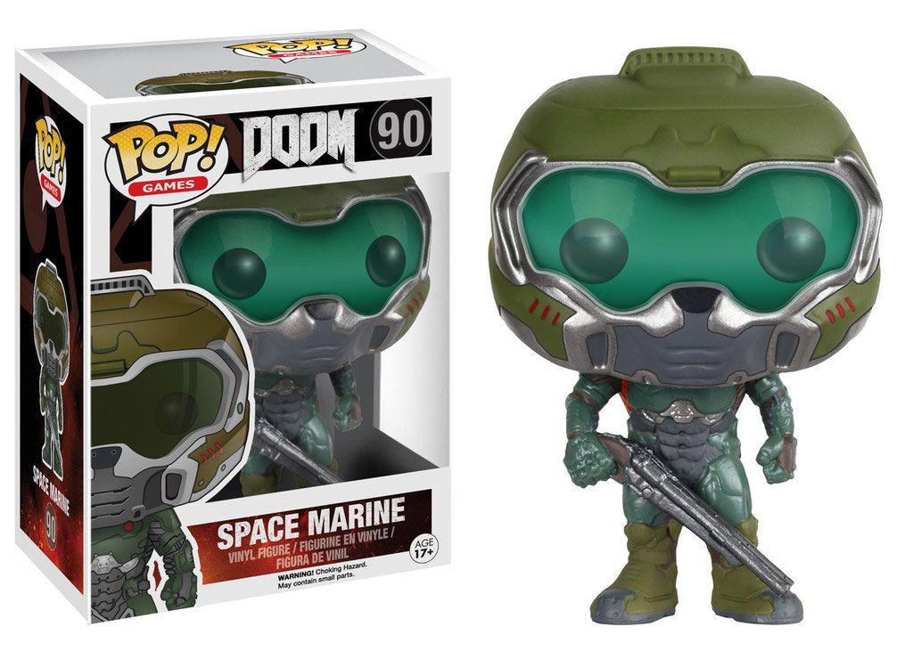 Doom POP! Games Vinyl Figure Space Marine 9 cm