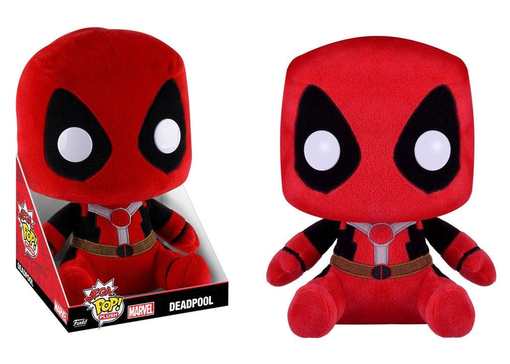 Marvel Comics Mega Pop! Plush Figure Deadpool 40 cm