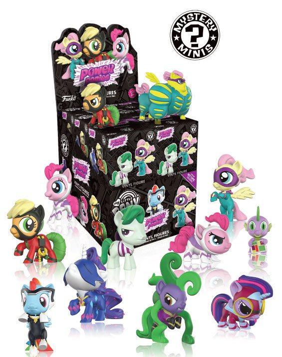 My Little Pony Mystery Mini Figures 5 cm Display Power Ponies (12)