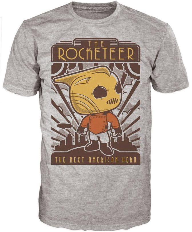 The Rocketeer POP! Tees T-Shirt The Rocketeer  Size L