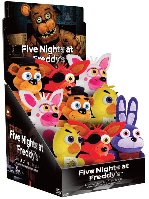 Five Nights at Freddy's Plush Figure 15 cm Set 1 Display (9)