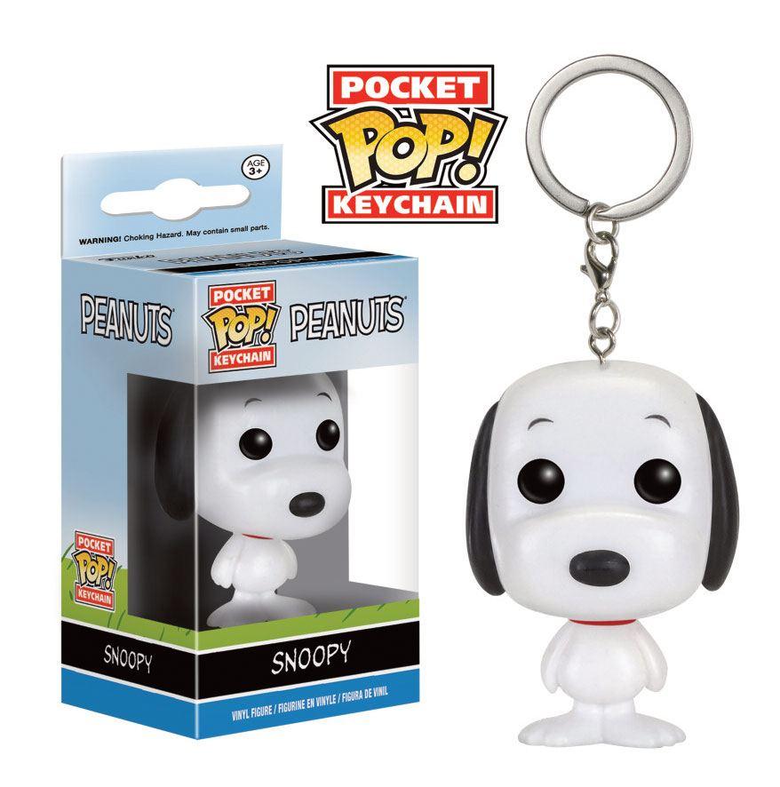 Peanuts Pocket POP! Vinyl Keychain Snoopy 4 cm
