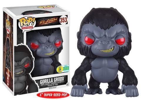 The Flash Super Sized POP! TV Vinyl Figure Gorilla Grodd SDCC 2016 Exclusive 15 cm