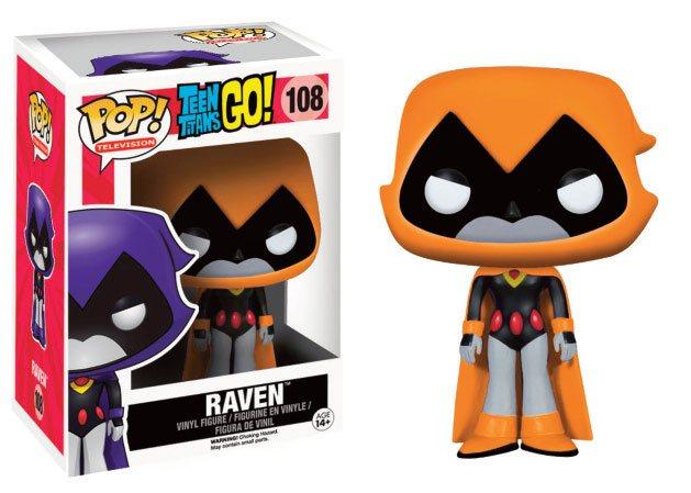 Teen Titans Go! POP! Television Vinyl Figure Raven (Orange) 9 cm