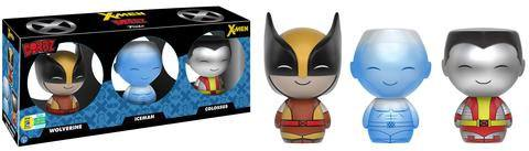 X-Men Dorbz Vinyl Figures 3-Pack Wolverine, Ice-Man & Colossus SDCC 2016 Exclusive 8 cm