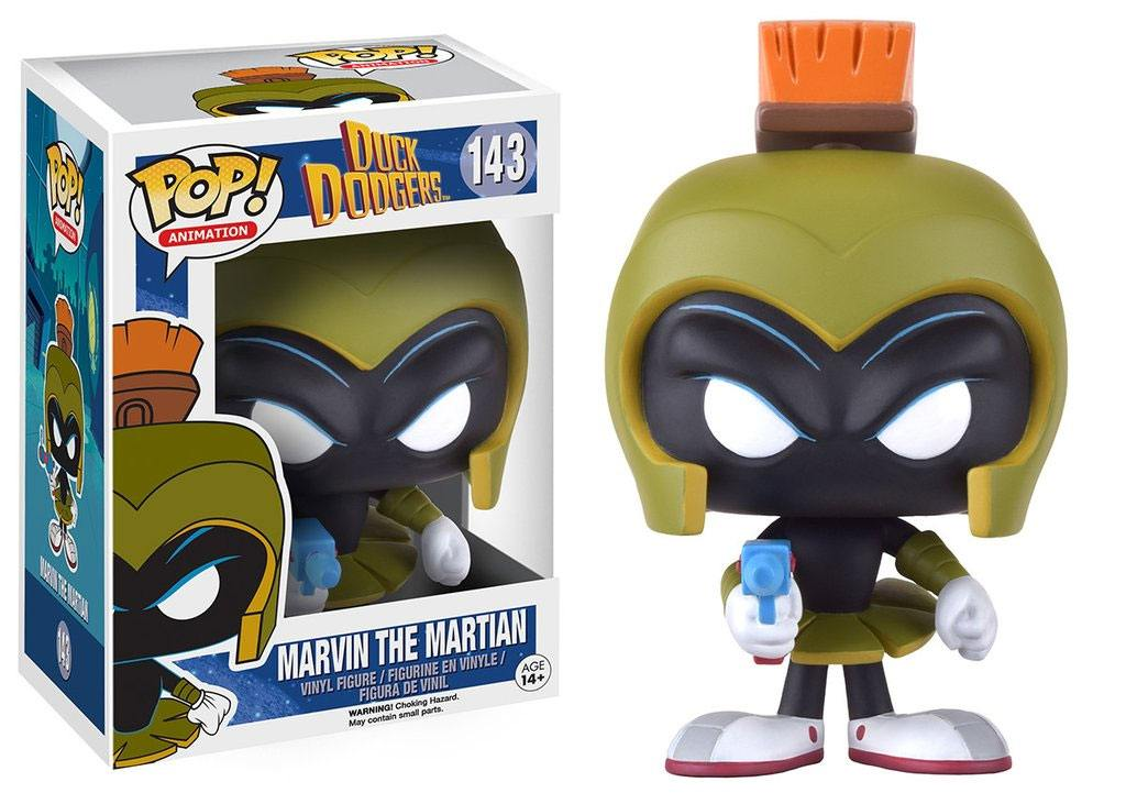 Duck Dodgers POP! Animation Vinyl Figure Marvin the Martian 9 cm