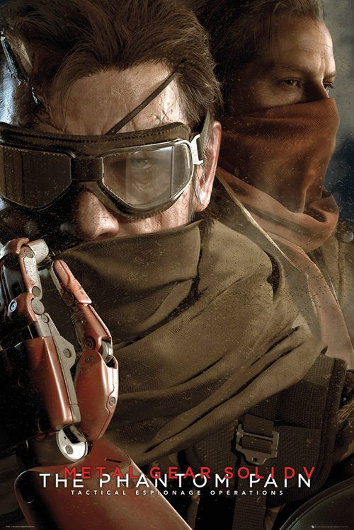 Metal Gear Solid 5 Poster Pack Goggles 61 x 91 cm (5)