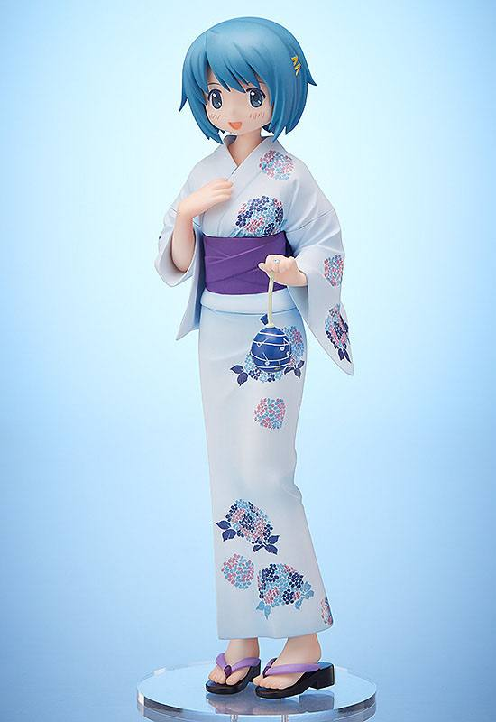 Puella Magi Madoka Magica PVC Statue 1/8 Sayaka Miki Yukata Ver. 19 cm