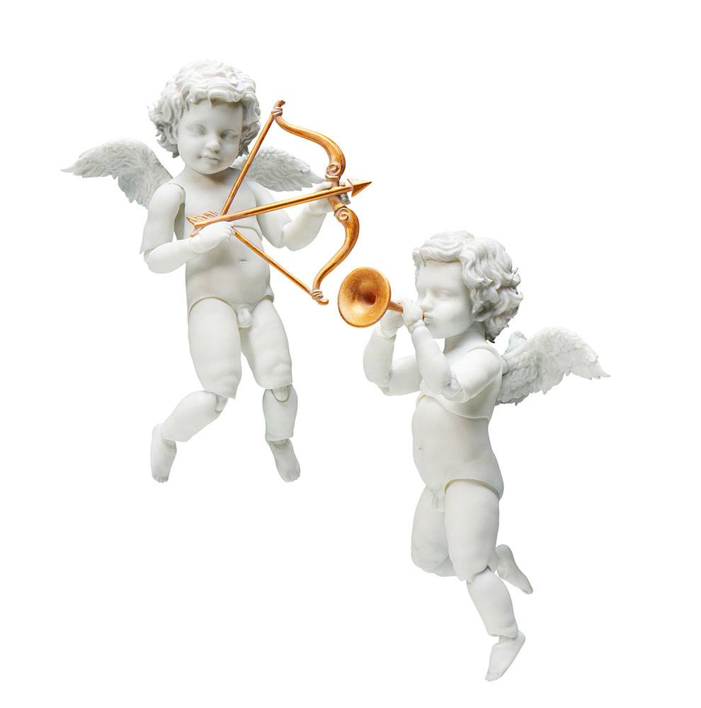 The Table Museum Figma Action Figure 2-Pack Angel 10 cm