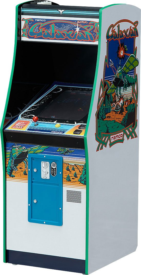 NAMCO Arcade Machine Collection Mini Replica 1/12 Galaxian 14 cm
