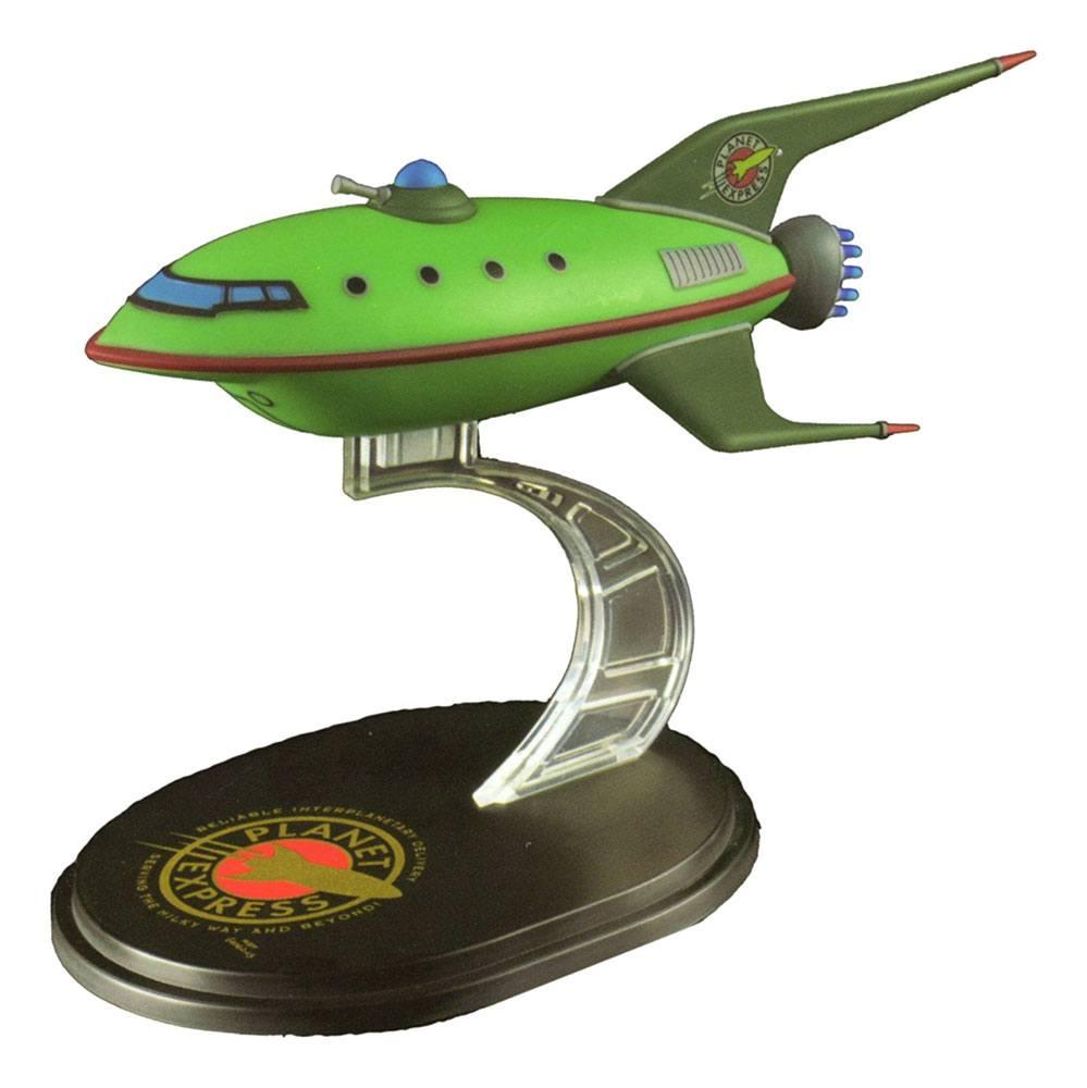 Futurama Q-Fig Mini Masters Replica Planet Express Ship LC Exclusive 12 cm --- DAMAGED PACKAGING